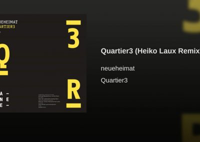 Quartier 3 Remix For Dennis Grell
