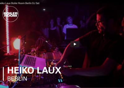 Boiler Room BerlinHeiko Laux